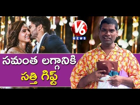 Bithiri Sathi To Present Handloom Sarees As Marriage Gift To