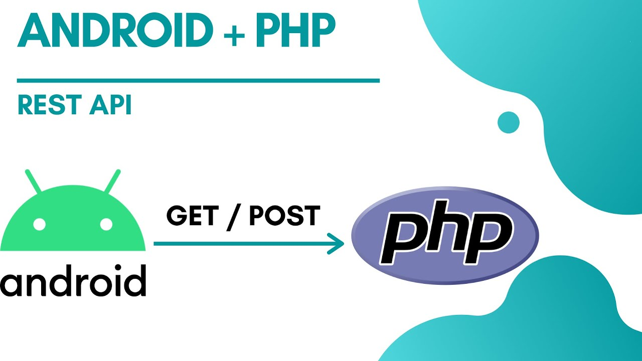How to send GET or POST Request From Android to a PHP file   Android GET POST REQUEST   ANDROID REST