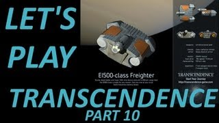 Free Full Version PC Space Trading Game Transcendence v1.1 Part 10 (Let's Play)
