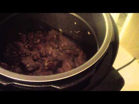 BEEF TIPS CHUNKS POWER PRESSURE COOKER XL