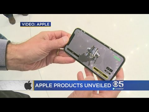 Apple Unveils New Models Of iPhone At New Cupertino Campus