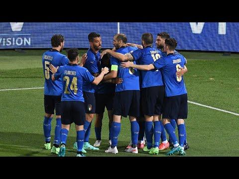 Highlights: Italia-Repubblica Ceca 4-0 (4 giugno 2021)
