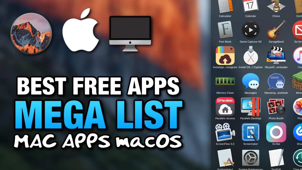 Free mac apps downloads