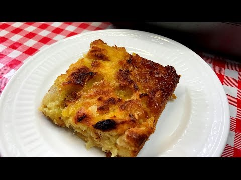 MOM'S PINEAPPLE BAKE!!  EASTER SIDE DISH RETRO RECIPE!!