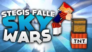 Stegis FALLE! - Minecraft Sky Wars! | DieBuddiesZocken