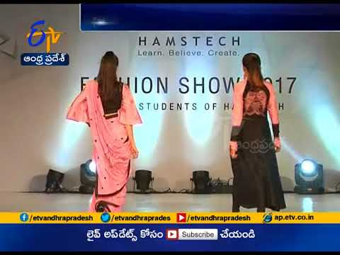 Hamstech student designs Fashion Show Held in Hyderabad