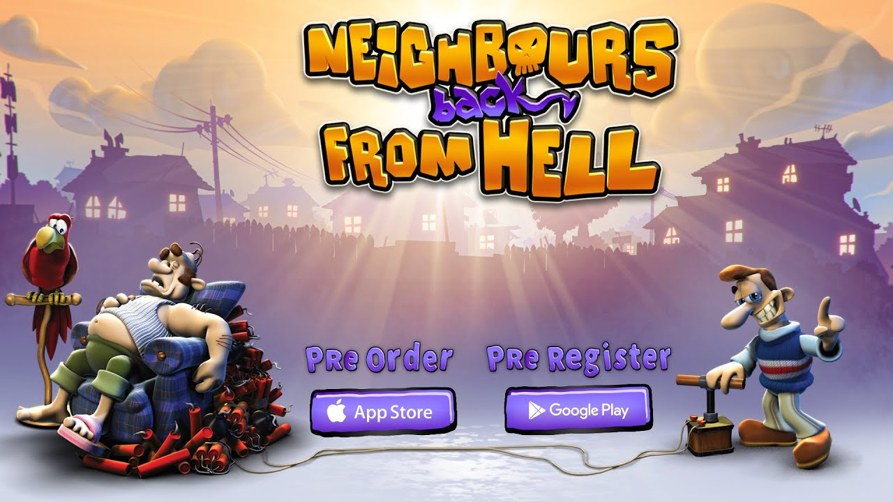 Neighbours back From Hell // Mobile PreOrder Trailer