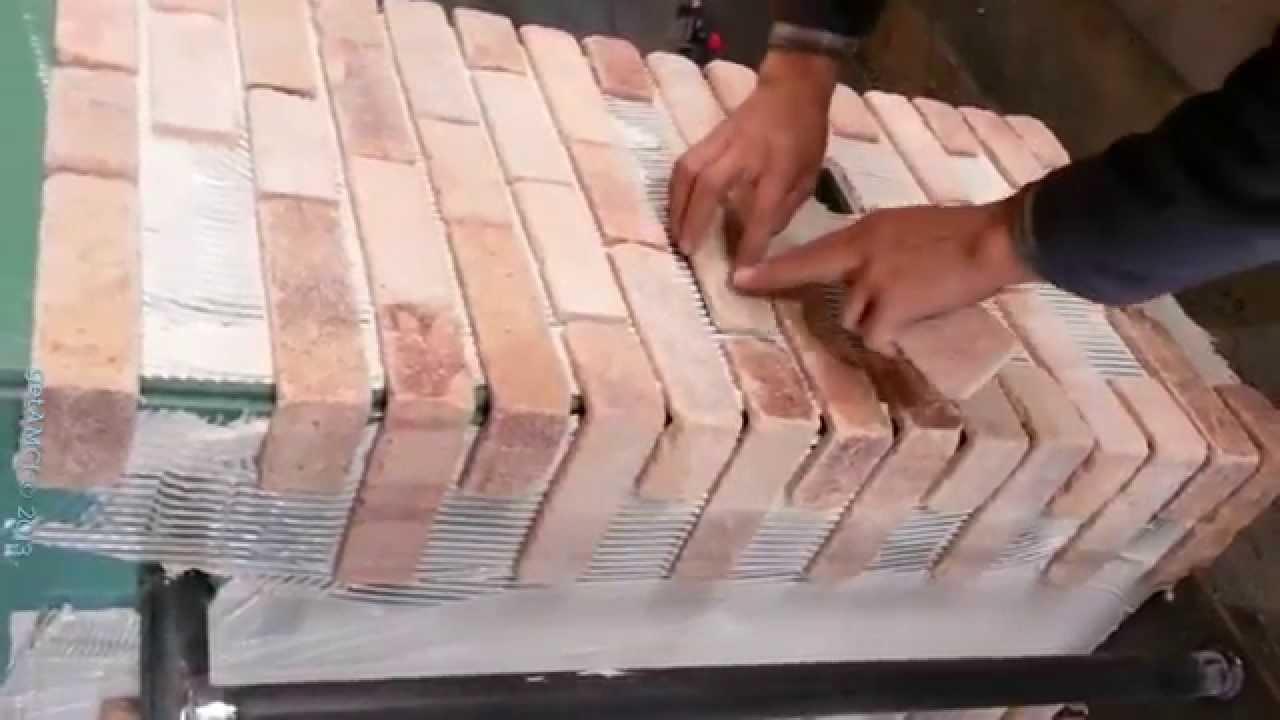 Thin Brick Installation And