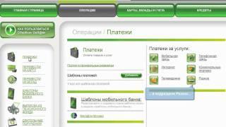 Подключение услуги Сбербанк@Онлайн и Мобильный банк в терминале Сбербанк