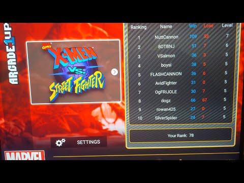 X-Men vs Street Fighter (Arcade 1Up) FootieLaughs VS boysi from Footie Laughs
