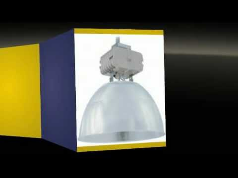 Lampara tipo campana industrial metalar metal halide 250w 400w bogota cel 3114881482 youtube - Lamparas tipo industrial ...