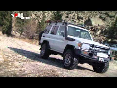 Тест-драйв Toyota Land Cruiser Prado 2014 - YouTube
