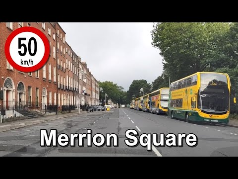Dash Cam Ireland - Merrion Square, Dublin