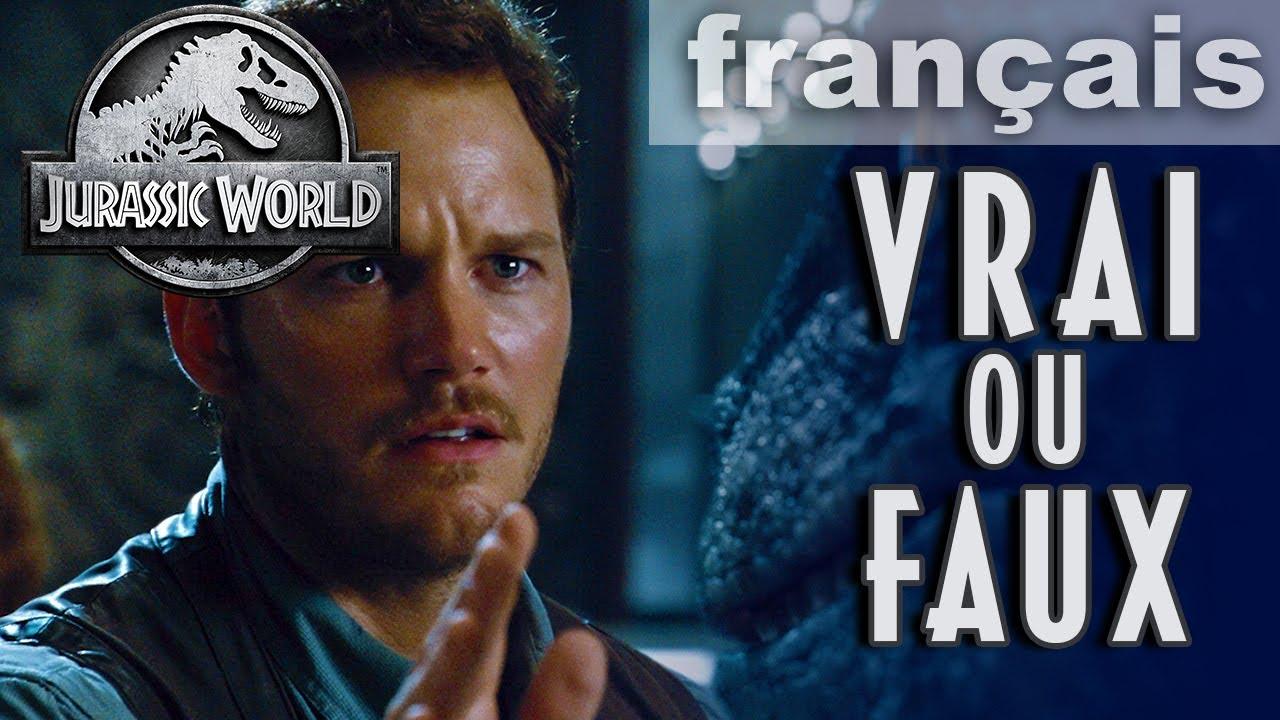 Quiz de film VRAI ou FAUX | JURASSIC WORLD