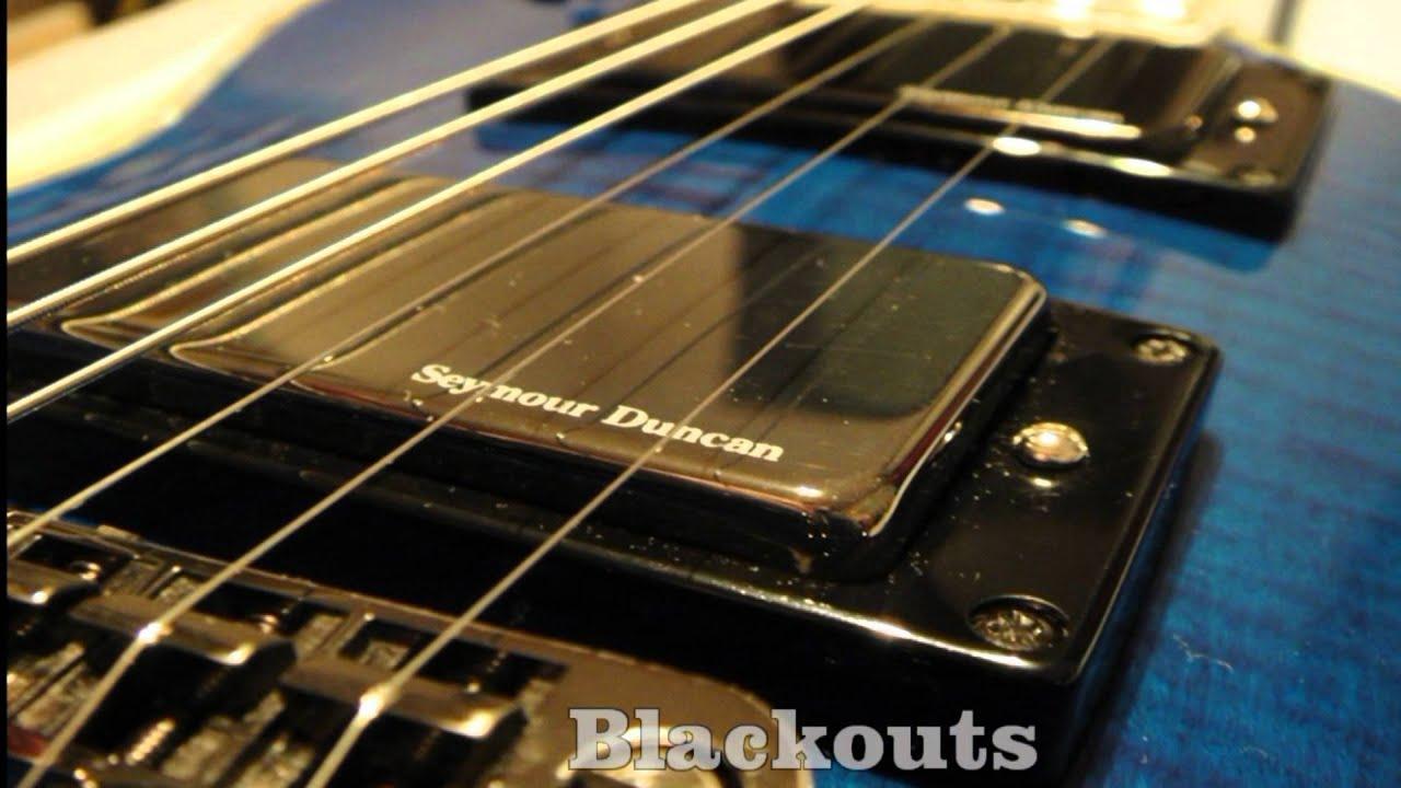 EMG 81 VS Seymour Duncan Blackouts AHB-1 (Comparison) - YouTube