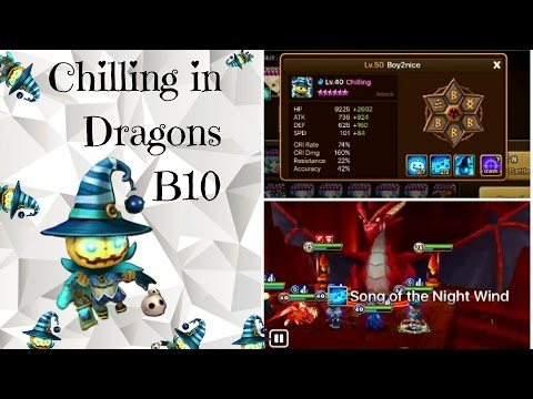 SUMMONERS WAR: Chilling in Drags B10