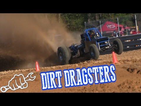 DIRT DRAG RACING THE PIT at Virginia Motor Speedway