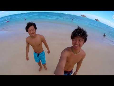 B'z Blue Sunshine  PV動画 〜hawaii movie〜 ハワイ動画