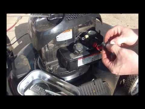Briggs and Stratton Plastic Carburetor  Poulan Mower