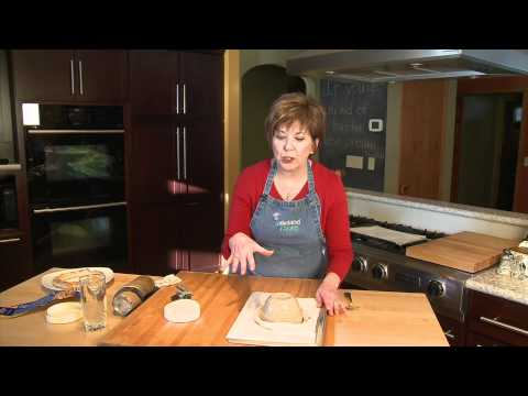 Cranberry-Topped Brie in a Bread Braid - Lakeland Cooks!