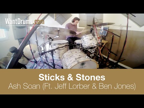 'Sticks and Stones' Ash Soan (Ft. Jeff Lorber & Ben Jones) [DRUM TRACKING]