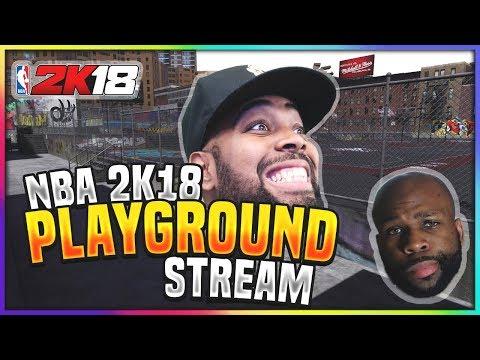 NBA 2K18 MyPARK - 3V3 LIVE STREAM W/ XCHASEMONEY & 3MGLIVE! (PS4 Pro Gameplay)