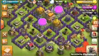 Clash Of Clans-Second Account Reached 300 WAR STARS