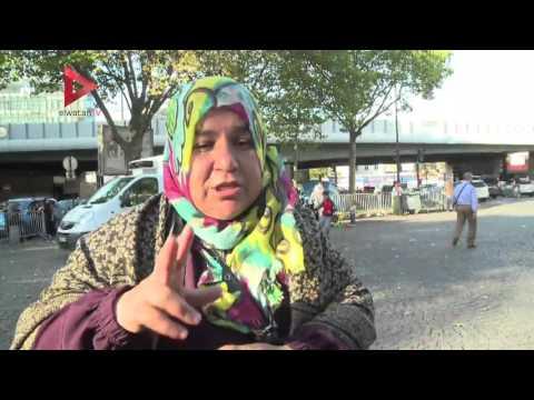 معاناة اللاجئين السوريين في فرنسا