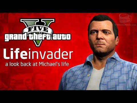 GTA 5 - A Look Back at Michael's Life (Facebook Parody)