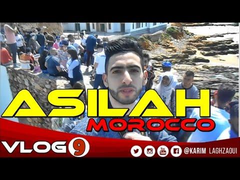VLOG #9 : Asilah Morocco  يومك معي في مدينة اصيلة