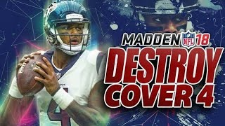 Madden 18 How to Beat Cover 4 - Madden NFL 18 Must Watch Tips!