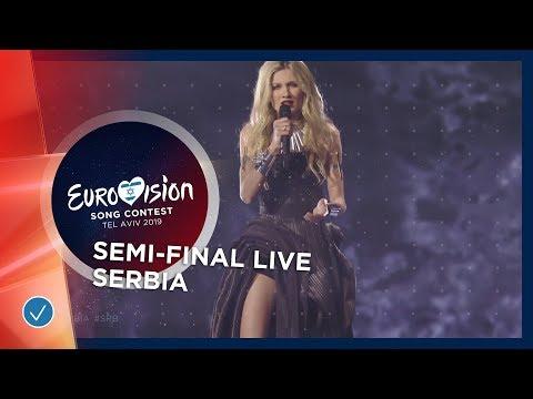 Serbia - LIVE - Nevena Božović - Kruna - First Semi-Final - Eurovision 2019