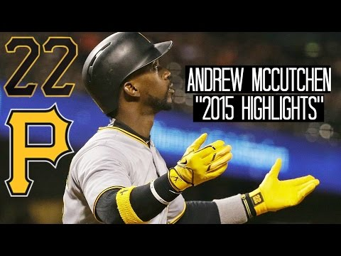 Andrew McCutchen | 2015 Pirates Highlights ᴴᴰ