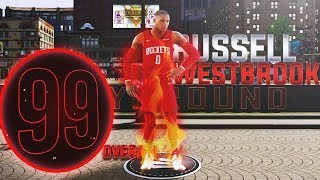 99 OVR RUSSELL WESTBROOK BUILD is INSANE on NBA2K20