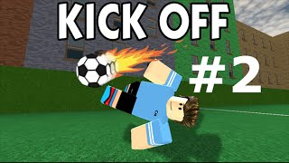 Playing Roblox - Kick off - Passing and PASSING!!! #2