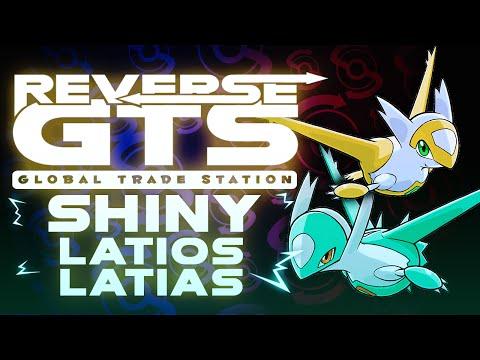 """SHINY LATIOS & LATIAS!"" - Reverse GTS Sat. #RGTSS - Pokemon Omega Ruby Alpha Sapphire Livestream"