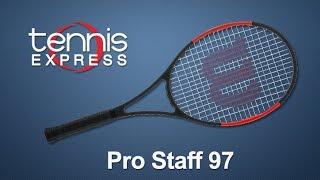 Wilson Pro Staff 97 Tennis Racquet review | Tennis Express