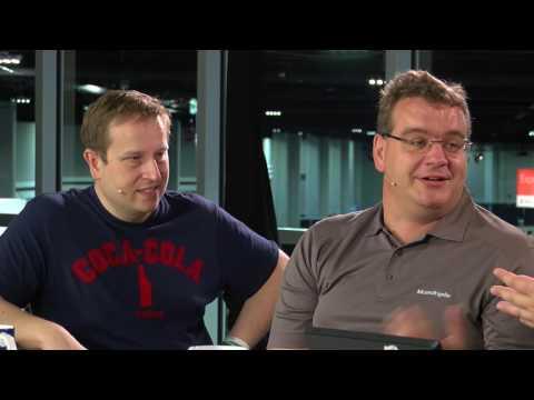 MVP Biergarten mit Markus Klein (Orange Networks GmbH)