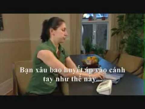 Hướng dẫn đo huyết áp (phụ đề tiếng Việt)