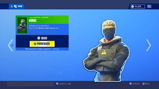 New VERGE Skin Is Now Out! Fortnite ITEM SHOP [January 15] | Rainz