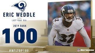 #100: Eric Weddle (S, Rams) | Top 100 Players of 2019 | NFL