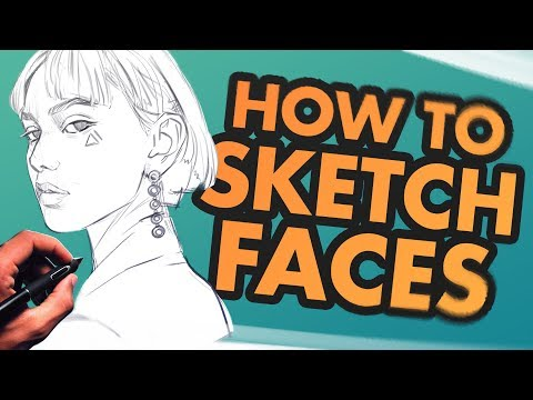 How To Sketch & Draw Faces