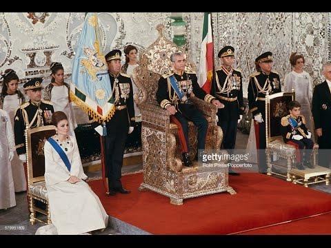 Mohamad Reza Pahlavi Shah Of Persia's Coronation 1967