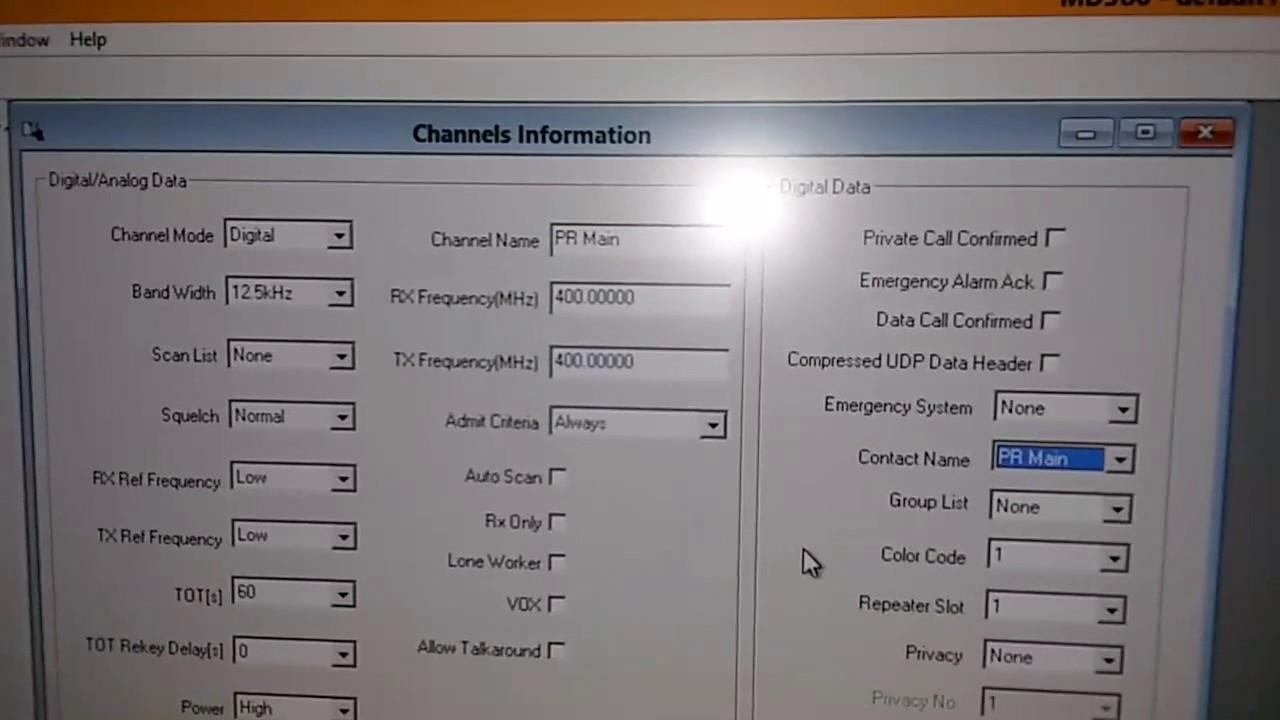 Pennsylvania Dmr Codeplug