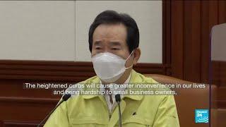 South Korea to tighten social distancing, warns of new Covid-19 crisis