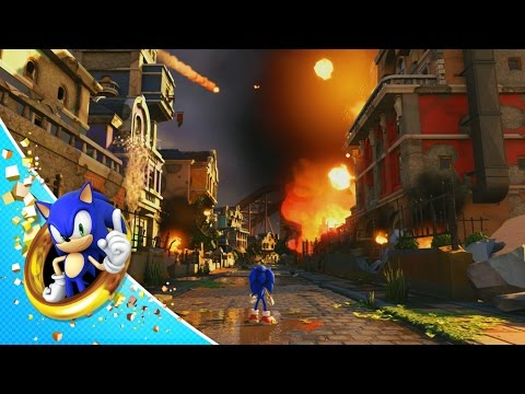 Sonic Forces gameplay