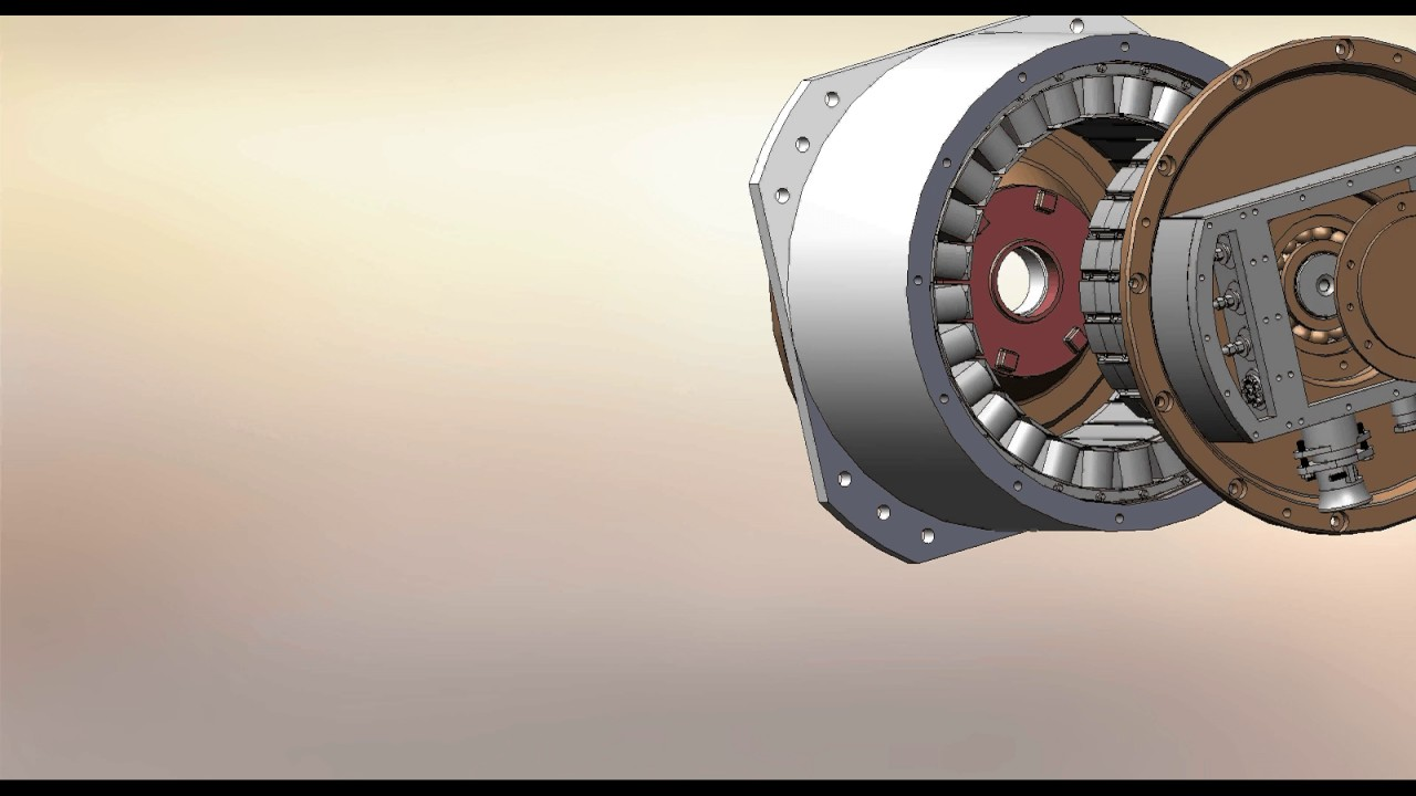 Emrax 208 - Permanent Magnet Synchronous Motors (80KW) by