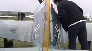 Repeat youtube video 60% scale Focke Wulf 190 homebuilt airplane
