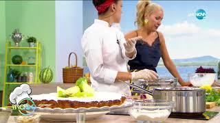 """Рецептата днес: Фалафели от червено цвекло и клафути с ябълки - """"На кафе (17.09.2020)"""