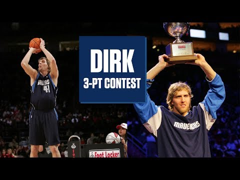 Dirk Nowitzki's best 3-Point Contest moments | NBA Highlights